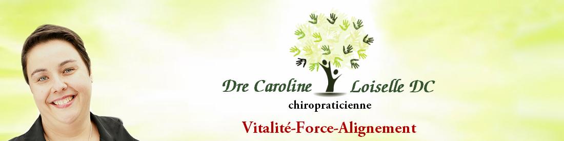 Dre Caroline Loiselle - Chiropraticien Longueuil Logo